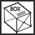 cutie de carton alba - white cardboard box